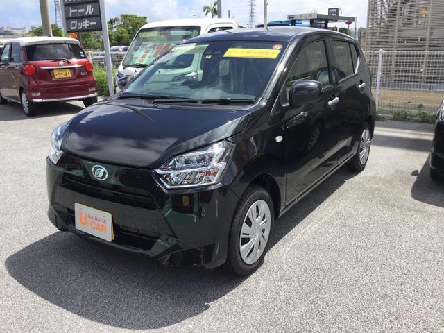 沖縄の中古車 ダイハツ ミライース 車両価格 100万円 リ済別 2021(令和3)年 5km ブラックマイカM