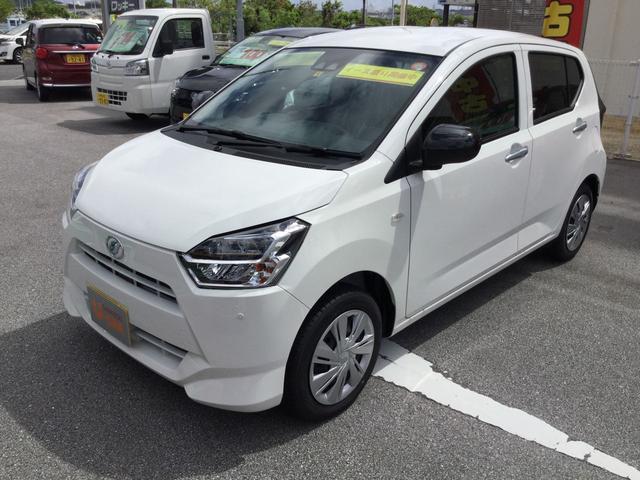 沖縄の中古車 ダイハツ ミライース 車両価格 100万円 リ済別 2021(令和3)年 4km ホワイト