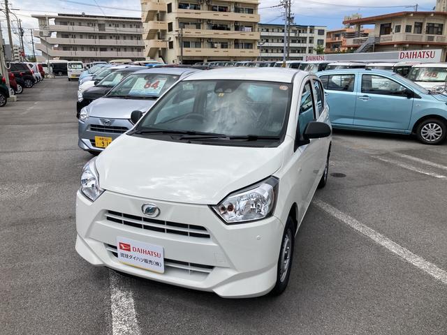 沖縄の中古車 ダイハツ ミライース 車両価格 84万円 リ済別 2021(令和3)年 5km ホワイト