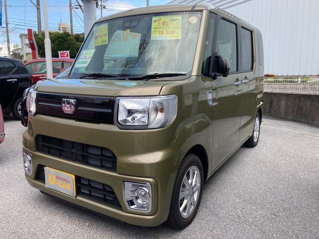 沖縄の中古車 ダイハツ ウェイク 車両価格 153万円 リ済別 2021(令和3)年 5km オフビートカーキM