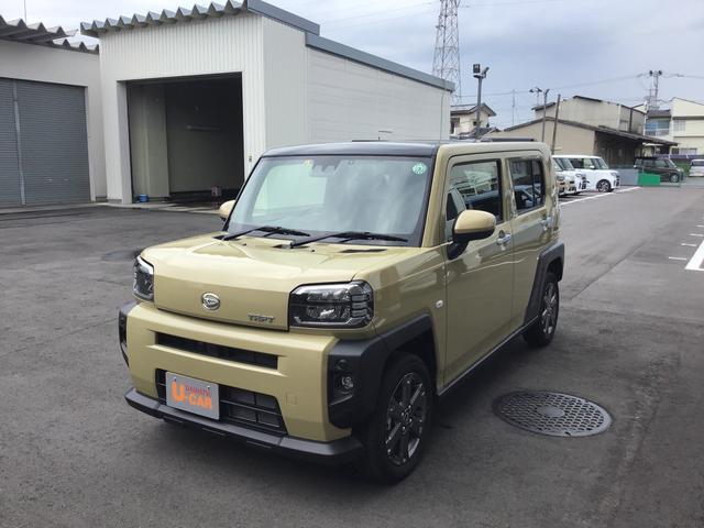 ダイハツ Gターボ 2WD クルーズコントロール スカイフィールトップ UVカットガラス LEDフォグランプ シートヒーター オレンジインテリアアクセント スマートアシスト プッシュボタンスタート 電動パーキングブレーキ
