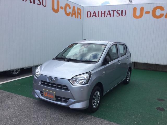 沖縄の中古車 ダイハツ ミライース 車両価格 89万円 リ済別 2021(令和3)年 5km ブライトシルバーM