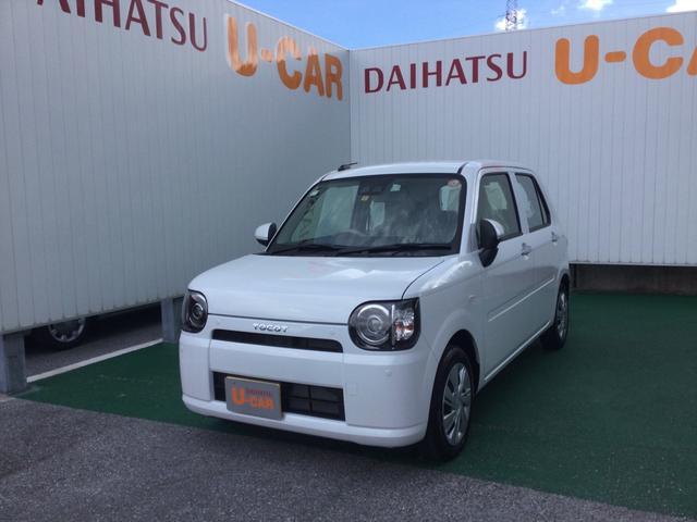 沖縄の中古車 ダイハツ ミラトコット 車両価格 113万円 リ済別 2021(令和3)年 6km シャイニングホワイトパール