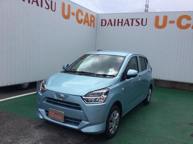 沖縄の中古車 ダイハツ ミライース 車両価格 100万円 リ済別 2021(令和3)年 6km スカイブルーM