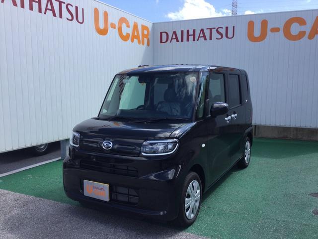 沖縄の中古車 ダイハツ タント 車両価格 132万円 リ済別 2021(令和3)年 5km ブラックマイカM