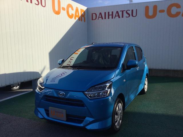 沖縄の中古車 ダイハツ ミライース 車両価格 101万円 リ済別 2021(令和3)年 10km スプラッシュブルーM