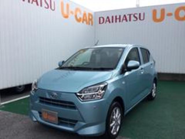 沖縄の中古車 ダイハツ ミライース 車両価格 113万円 リ済別 2021(令和3)年 6km スカイブルーM