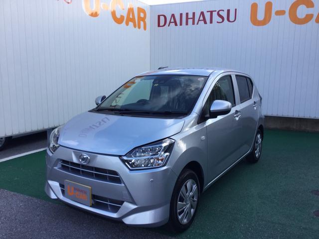 沖縄の中古車 ダイハツ ミライース 車両価格 100万円 リ済別 2021(令和3)年 7km ブライトシルバーM