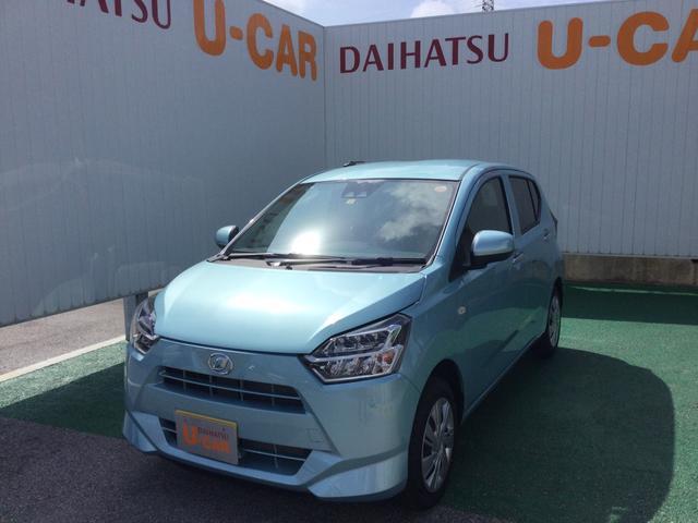 沖縄の中古車 ダイハツ ミライース 車両価格 101万円 リ済別 2021(令和3)年 7km スカイブルーM