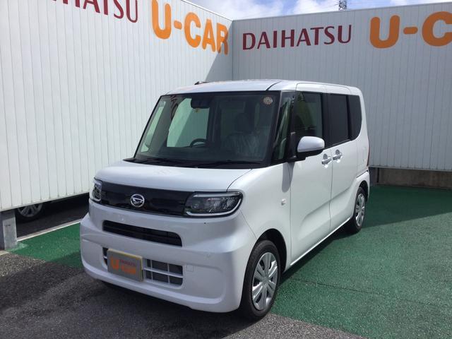 沖縄の中古車 ダイハツ タント 車両価格 146万円 リ済別 2021(令和3)年 7km シャイニングホワイトパール