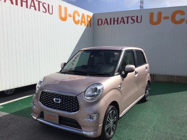 沖縄の中古車 ダイハツ キャスト 車両価格 135万円 リ済別 2021(令和3)年 5km ライトローズマイカM