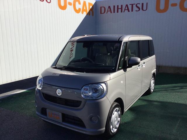 沖縄の中古車 ダイハツ ムーヴキャンバス 車両価格 146万円 リ済別 2021(令和3)年 7km スムースグレーマイカM