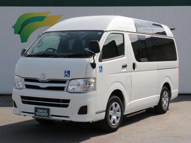 トヨタ SDナビ ワンセグTV 車イス仕様車