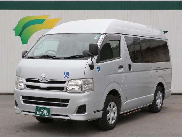 トヨタ リヤパワーリフト 1オナ キーレス 福祉車両 ベンチシート