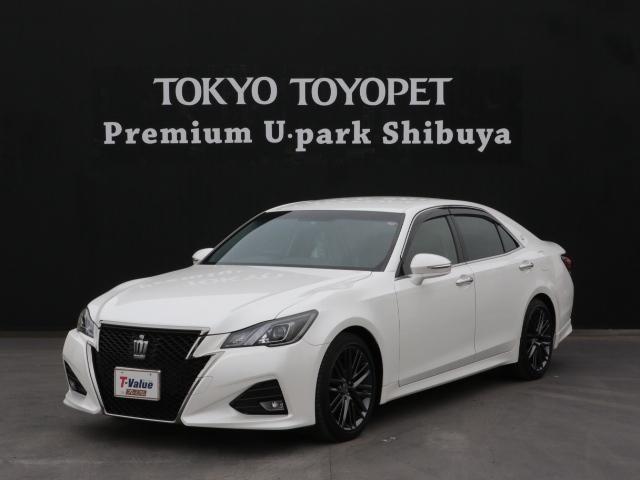 トヨタ アスリートS-T ナビ 本革シート LED ターボ車
