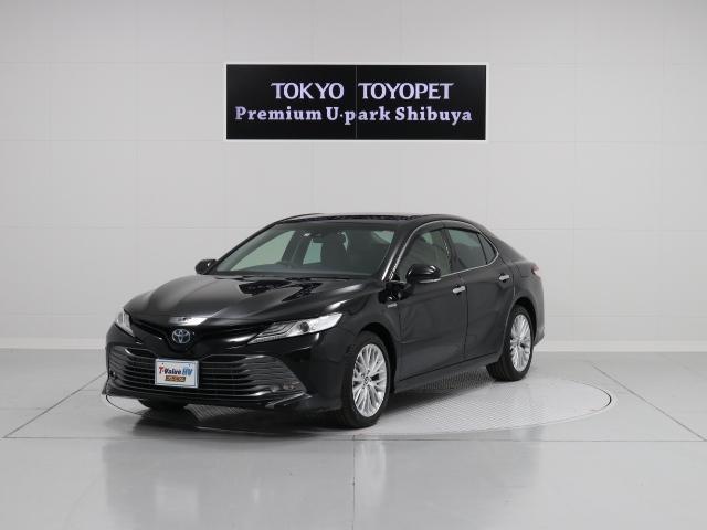 トヨタ HV GレザーPKG ナビ 本革 レーダークルーズTSS-P