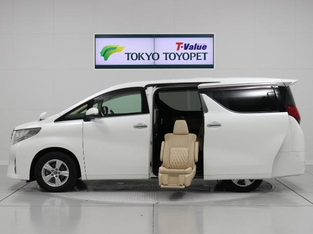 トヨタ GFサイドリフトアップ 両電動巣ドア 後席モニタ ETC