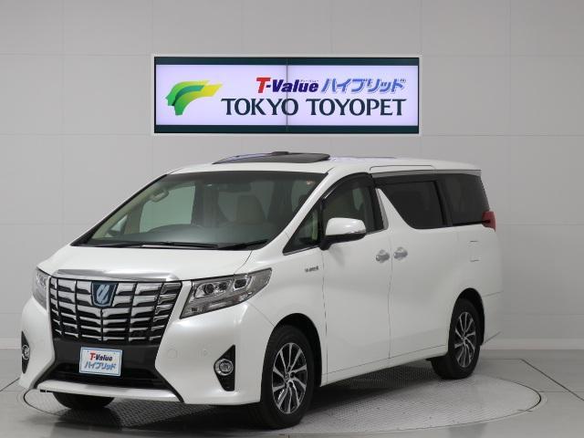トヨタ G Fパッケージ 1オナ・自動ブレーキ・本革・サンルーフ・