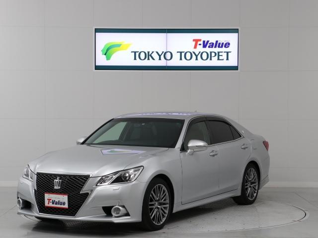 トヨタ アスリートG 本革・HDDナビ・18インチアルミ・クルーズ
