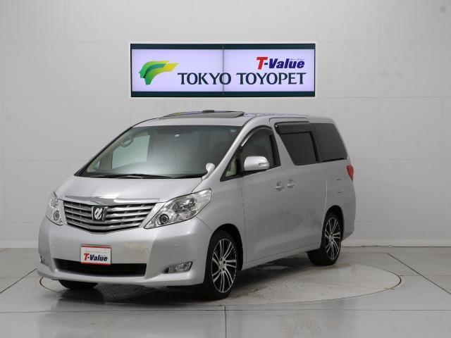 トヨタ 350G Lパック HID HDDナビ DTV サンルーフ
