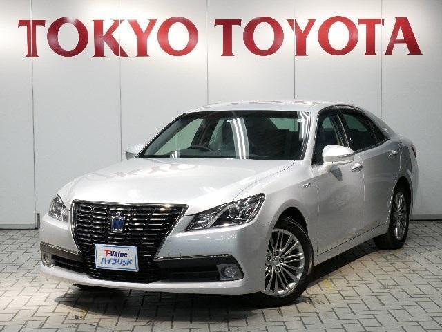 トヨタ ロイヤルサルーンブラックス MOPナビ パワーシート ETC
