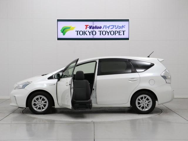 トヨタ 福祉車両 助手席リフトアップシート タイプB 地デジSDナビ