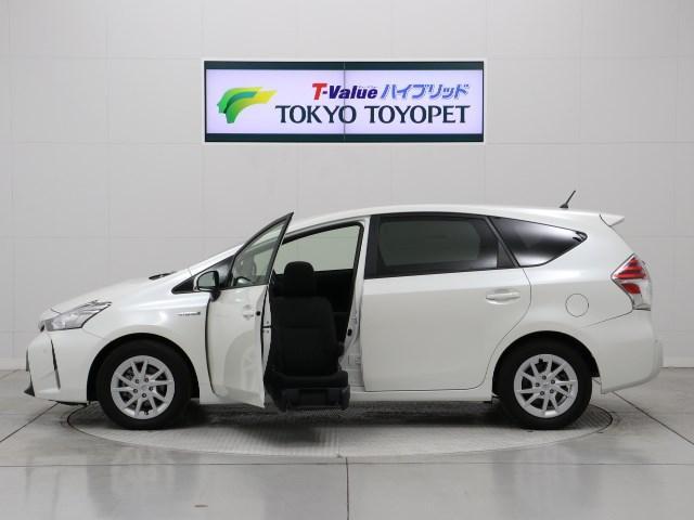 トヨタ 福祉車両 地デジSDナビBモニタETC