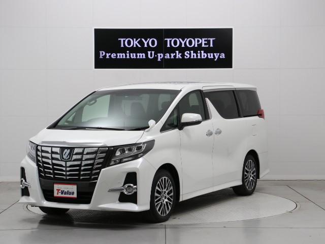 トヨタ 2.5S Cパッケージ 車検整備付 ナビ 後席モニター 7人