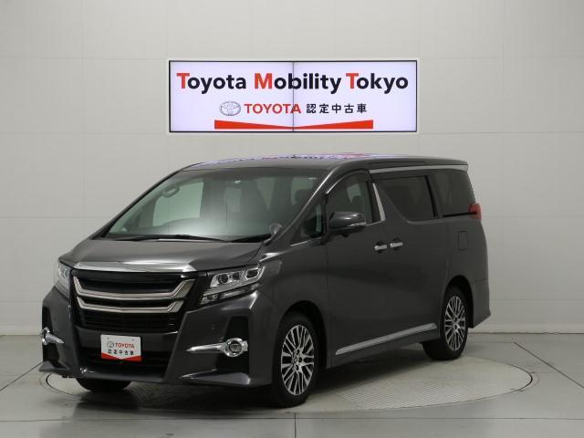 トヨタ 3.5SA C-PKG 車検整備付 ナビ 本革 後席モニター