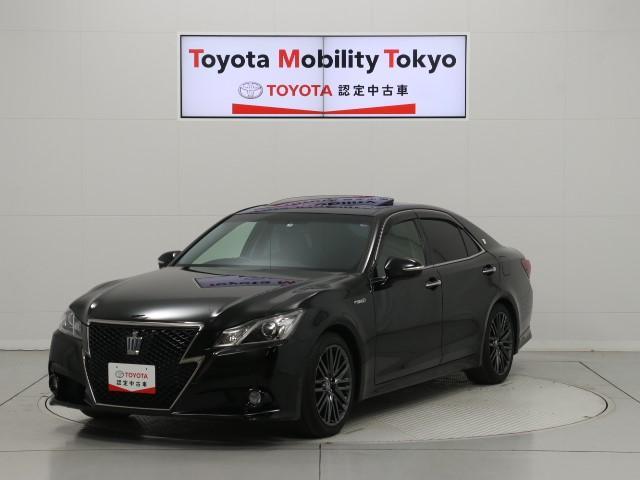 トヨタ アスリートS ブラックスタイル HDDナビ フルセグTV