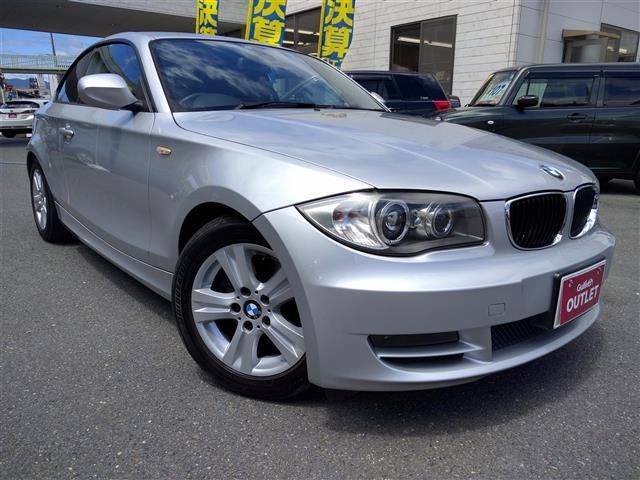 BMW 120iクーペ 社外HDDナビ ETC HID スマートキー