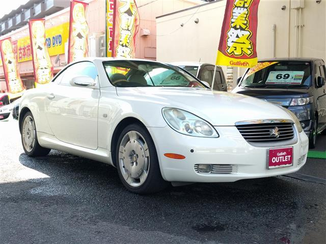 トヨタ 430SCV  ナビ レザーシート