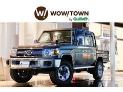 ランドクルーザー70ピックアップ ワンオーナー 4WD サイドステップ 純正AW
