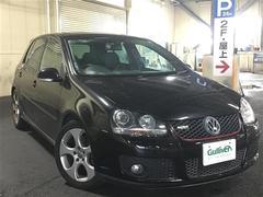VW ゴルフGTi 本革シート ワンオーナー HDDナビ
