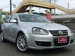 VW ジェッタ2.0TSI スポーツライン ワンオーナー 革シート ETC