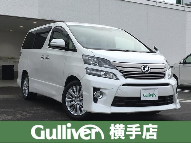 トヨタ 2.4Z 4WD 後席モニタ 片パワスラ HDDナビ HID