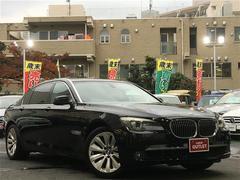 BMW7シリーズ HDDナビ バックカメラ サンルーフ 革シート
