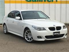 BMW5シリーズ Mスポーツ ETC HID DVDナビ キーレス