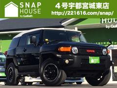 FJクルーザーブラックカラーPKG 社外ナビTV/クルコン/バックソナー