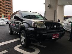 エクストレイルStt 4WD 革シート HDDナビ DVD再生 ETC