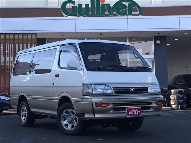トヨタ スーパーカスタム LTD 4WD サンルーフ ワンオーナー