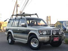 パジェロSエクシード ミドルルーフ ワイド 4WD ETC 社外CD