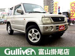 パジェロミニVR 4WD ターボ キーレス DVDナビ CDオーディオ