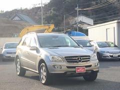 M・ベンツMクラス 4MATIC 本革シート 4WD HDDナビ