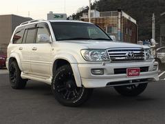 ランドクルーザー100VX−LTD Gセレクション 4WD サンルーフ HDDナビ