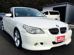 BMW5シリーズ 本革シート 社外19インチAW HDDナビ