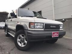 ビッグホーンXS プレジール 4WD CDオーディオ ターボ
