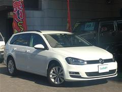 VW ゴルフヴァリアントTSI コンフォートライン BM ワンオーナー メモリーナビ