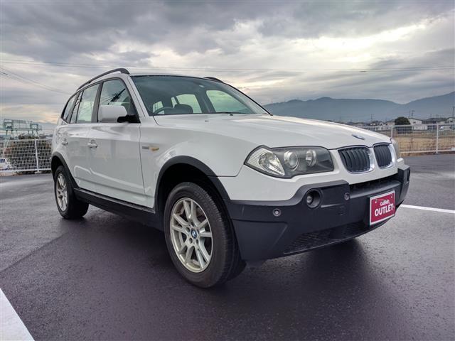 BMW X3 2.5i 4WD ワンオーナー HDDナビ ETC ...