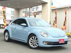 VW ザ・ビートルデザインレザーパッケージ ワンオーナー 革シート メモリナビ